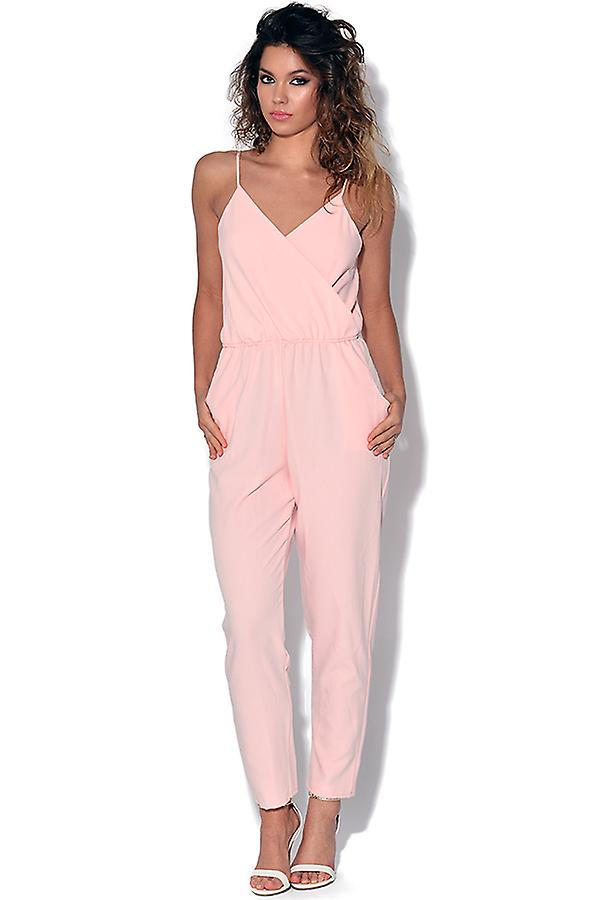 strappy pink jumpsuit | womenu0027s clothing | fruugo usa uowfhif