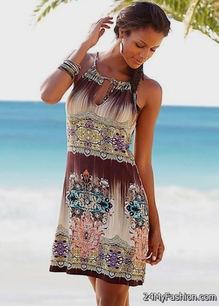 sun dresses in short, avoid wearing flat sandals, pumps or boots with your dress. rgerbou