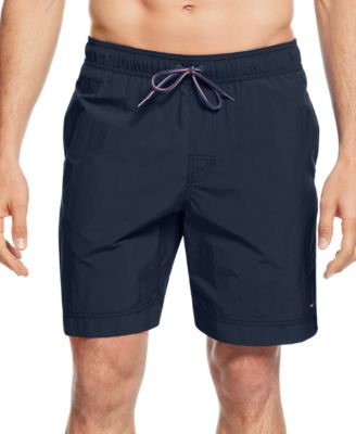 swimming shorts tommy hilfiger menu0027s tommy swim trunks zbrtqke