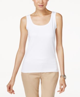 tank tops for women alfani scoop-neck basic tank peuqiqp