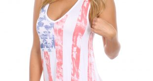 tank tops for women womenu0027s faded american flag tank top | tipsy elves glthina