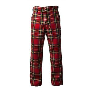 tartan trousers image is loading mens-royal-stewart-red-tartan-trousers-trews vqtarxc