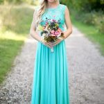 Bridesmaids becoming the spotlight with teal bridesmaids dresses