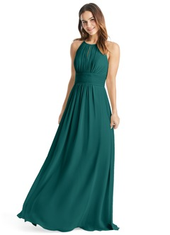 teal bridesmaid dresses azazie bonnie bridesmaid dress | azazie fvjxrdt