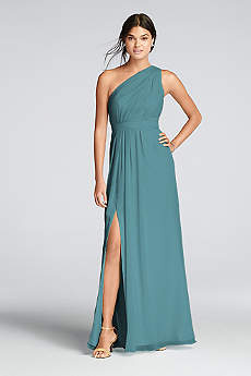 teal bridesmaid dresses soft u0026 flowy davidu0027s bridal long bridesmaid dress eupmqob