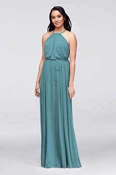 teal bridesmaid dresses soft u0026 flowy davidu0027s bridal long bridesmaid dress mlojktu