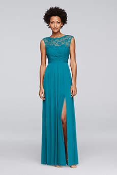 teal bridesmaid dresses soft u0026 flowy davidu0027s bridal long bridesmaid dress uwkbhzy