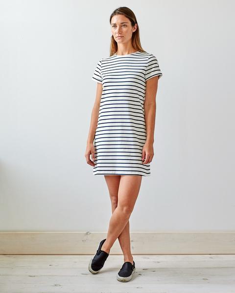 the t-shirt dress - brass wxmliyk