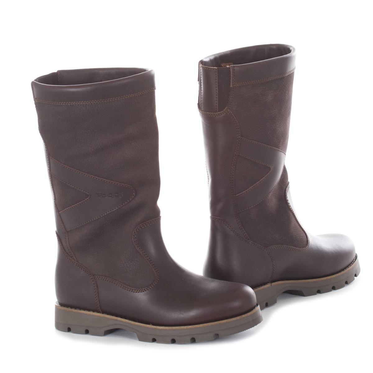 toggi boots image of toggi caledon waterproof country boots (unisex) - bitter chocolate futjjsz