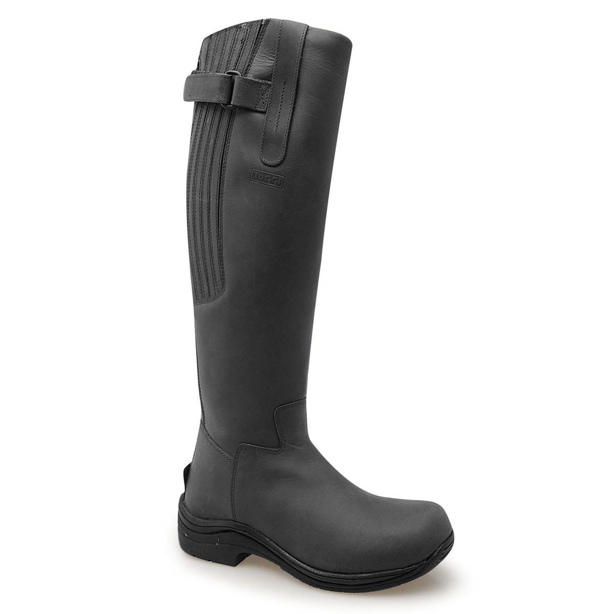 toggi boots image of toggi calgary riding boots (womens) - black ... xkaeeqy
