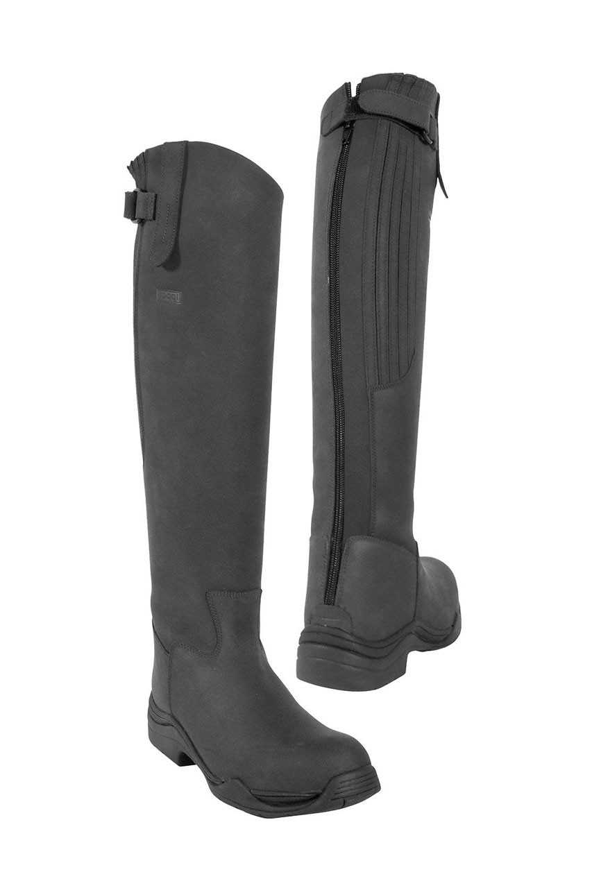 toggi boots toggi calgary long leather country style boot black gtltmxz