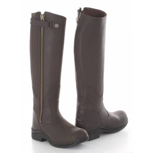 toggi boots toggi roanoke riding boots - bitter chocolate okoueeu
