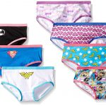 under wear amazon.com: handcraft little girlsu0027 justice league hipster underwear (pack  of 7): girls oencdle