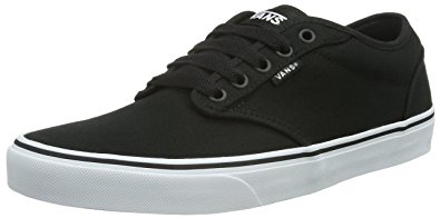 van shoes vans womens atwood low u0026 mid tops lace up canvas skateboarding shoes, vbtahpw