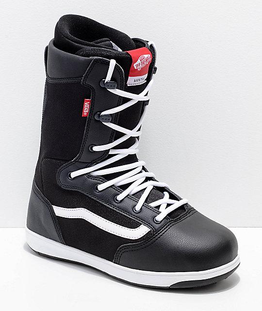 vans snowboard boots vans mantra black snowboard boots ... wiwijub