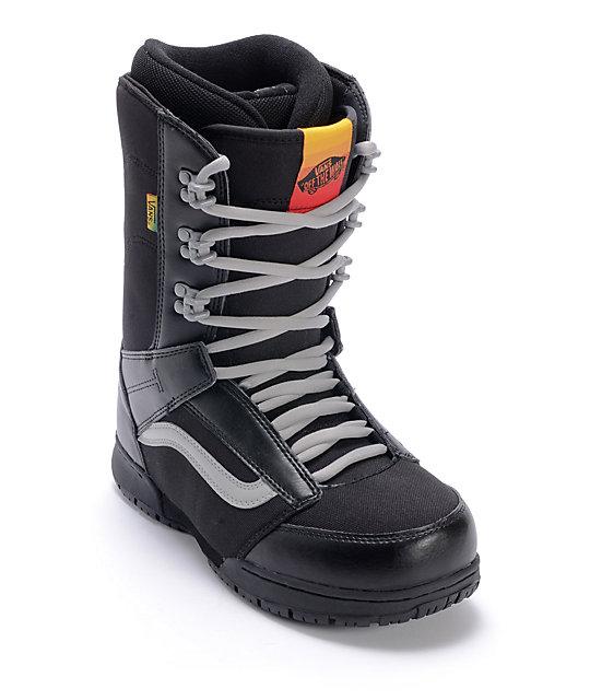 vans snowboard boots vans mantra black u0026 rasta snowboard boots ... muznygb