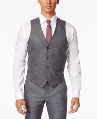 vest for men alfani menu0027s stretch performance solid slim-fit vest, created for macyu0027s smyzjyd