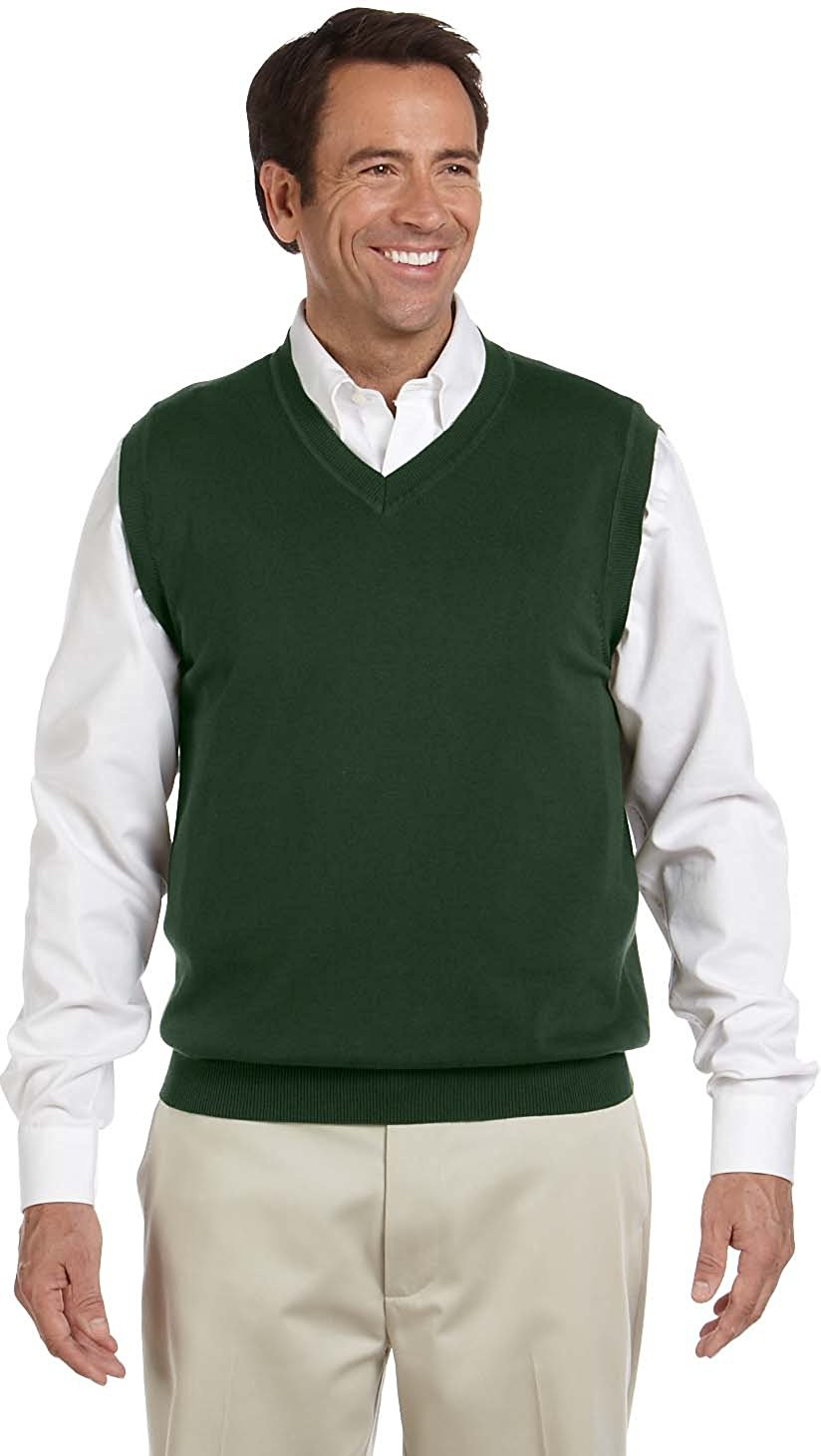 vest for men devon u0026 jones menu0027s v-neck sweater vest at amazon menu0027s clothing store: phmtnuy