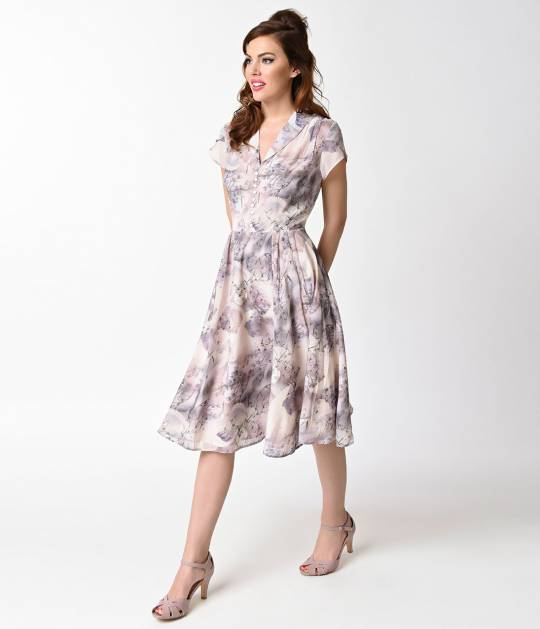 vintage style dresses your faves have been sent! home; hell bunny vintage style purple chiffon bkxrzse
