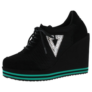 volatile shoes volatile rappin womenu0027s platform wedge sneakers shoes ivccouc