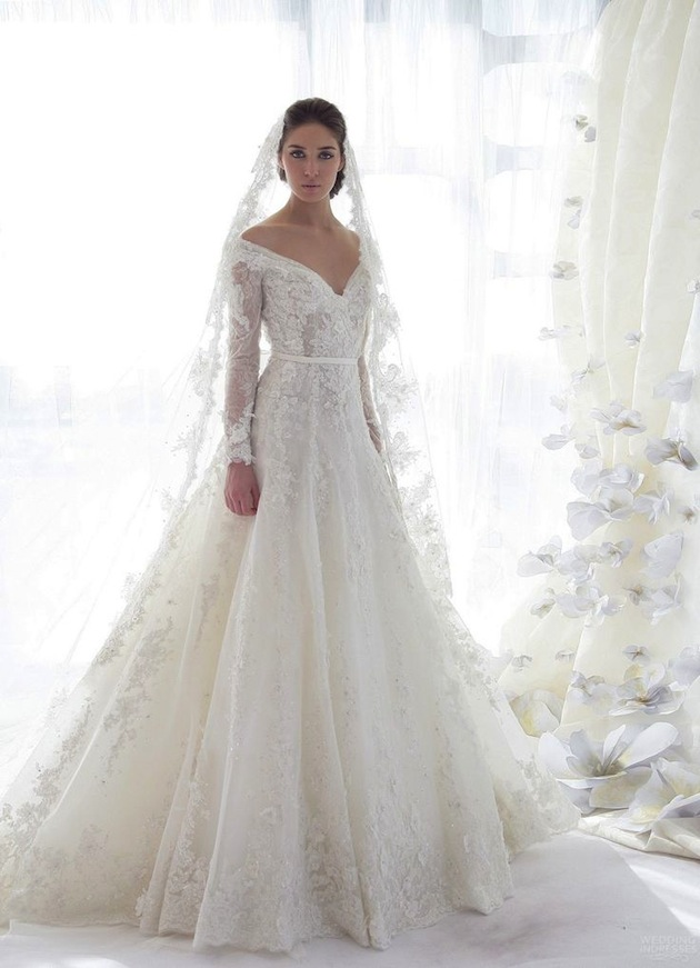 Wedding Dresses With Sleeves: Better Than Strapless Dress