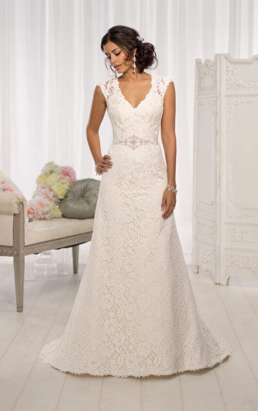 wedding dresses with sleeves d1598 cap sleeve wedding dresses by essense of australia qioclbp
