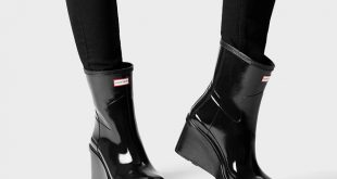 wedge boots womenu0027s original refined wedge-sole boots qxgtmgg