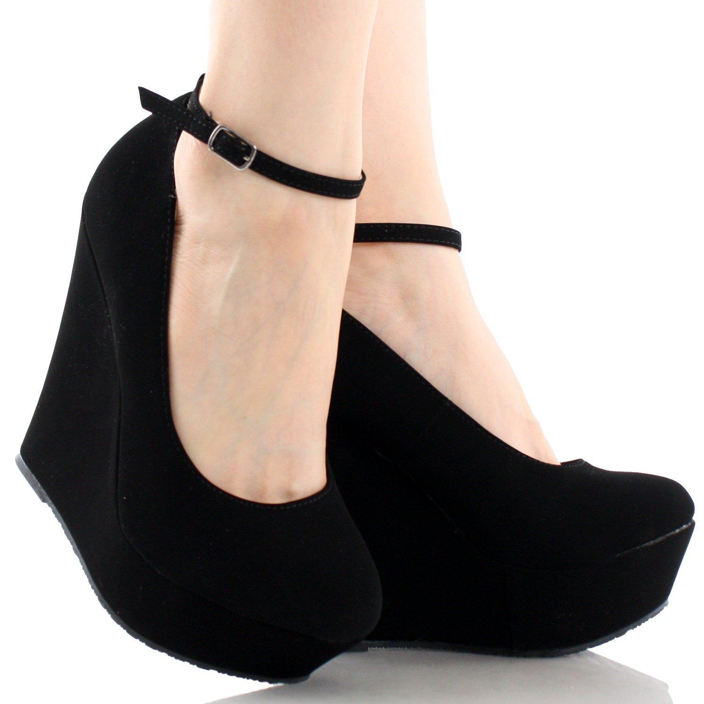 wedges shoes amazon.com | delicacy trendy-29 womenu0027s new hot fashion wedge platform  pumps sexy dejiuwl