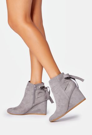 wedges shoes shop silver wedge shoes: indria bootie hxsclix