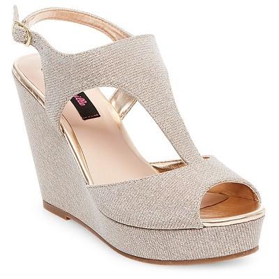 wedges shoes womenu0027s betseyville ryatt glitter mesh platform wedge sandals ygxrpzv