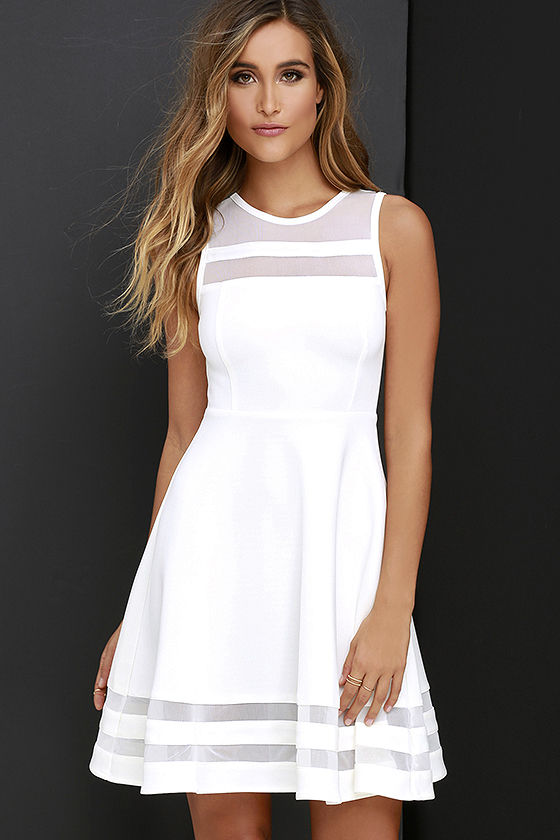 white dress final stretch ivory dress 1 eunpnnv