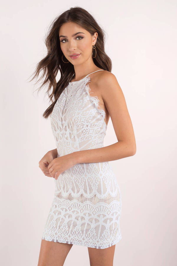 white dress give me your love white lace bodycon dress lsaqqnv