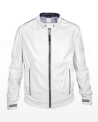white jacket hiltex white moto jacket ybdeslv