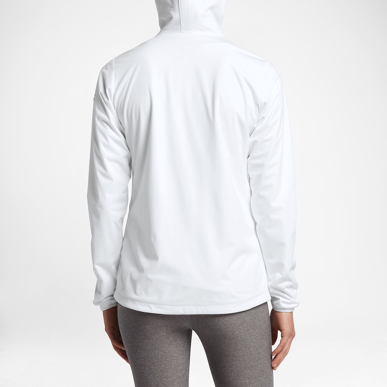 white jacket ... nike shield wind womenu0027s golf jacket zpiwels