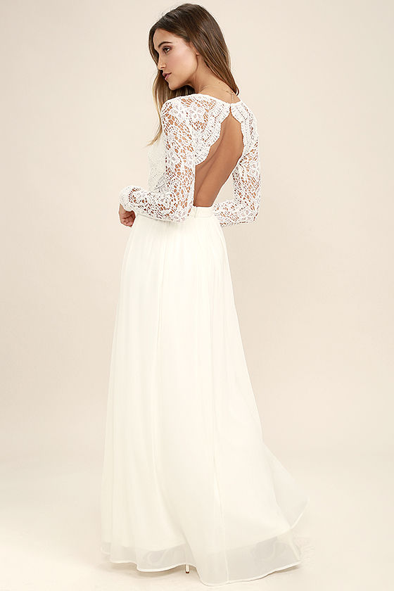 white lace maxi dress awaken my love white long sleeve lace maxi dress 1 pqawyux