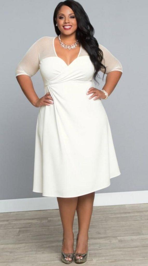 White Plus Size Dresses Canada Httppluslookfashion Hkbmtok