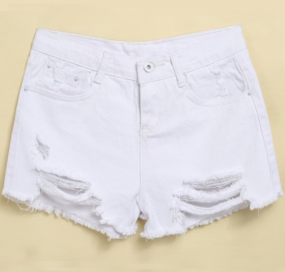 white shorts white ripped fringe denim shorts txnsacw