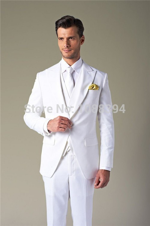 All White suits for men are without a doubt almost always worn for special occasions. Here is the place you need to shop when you're looking for all white suits for men at cheap prices because who wants to pay more than they have to.