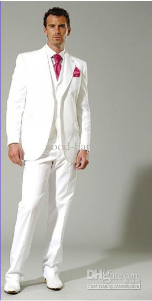 white suits for men white menu0027s suits groom tuxedo prom clothing u003cjacket+pants+tie+vestu003ea 6  online with $137.15/piece gartkrn
