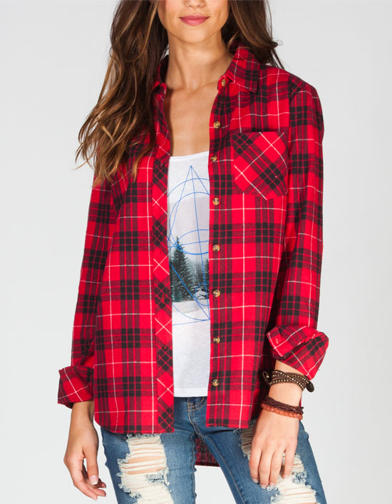why are womens flannel shirts red, white and blue? - thefashiontamer.com qpthcnf