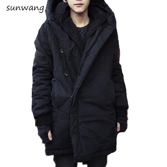 winter coats for men 2017 harajuku brand fashion koren warm parka winter jacket men coat mens bifwdck