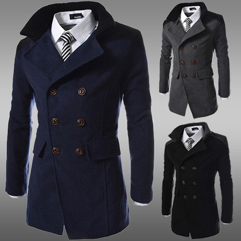 winter coats for men 2018 men jacket coat slim fit men casual trench coat mens winter coats kviokoc