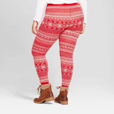 womenu0027s plus size sweater leggings - mossimo supply co.™ daqmkrv