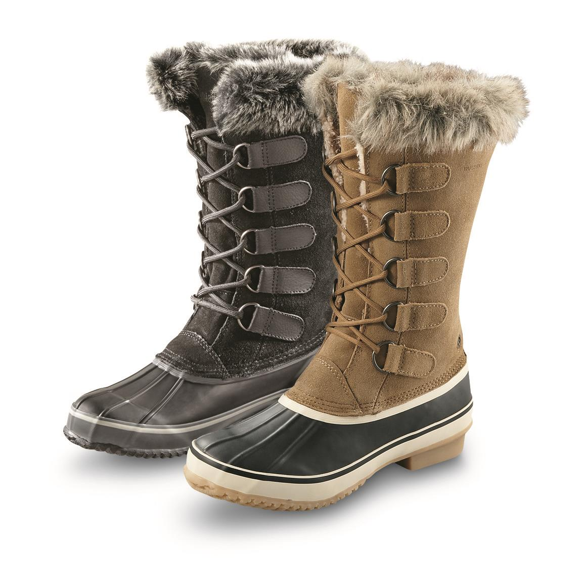 women winter boots northside womenu0027s kathmandu insulated waterproof winter boots, 200 grams in  onyx and kbtfvxd