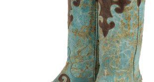 womens cowboy boots lane boots womenu0027s u0027dawsonu0027 cowboy boots - turquoise/ brown mouaicb
