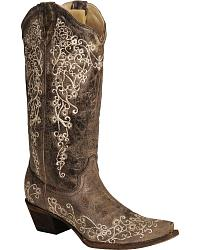 womens cowboy boots womenu0027s embroidered boots upidmwg