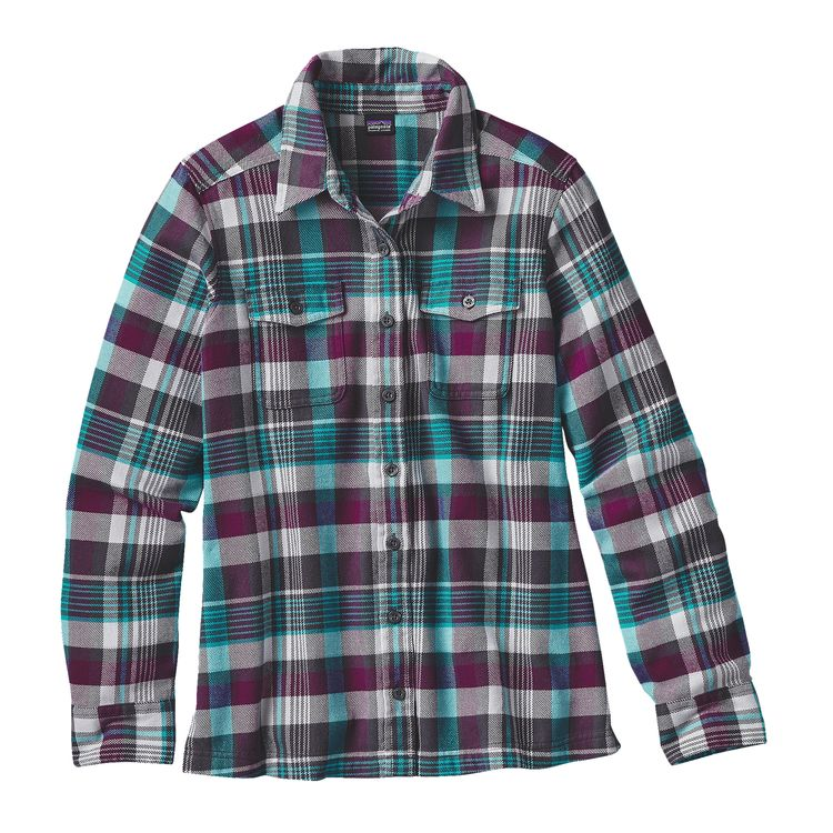 womens flannel shirts backcountry north patagonia long-sleeved fjord flannel shirt - womenu0027s  backcountry north fzfbqca