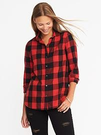 womens flannel shirts classic flannel shirt for women ncixtnr