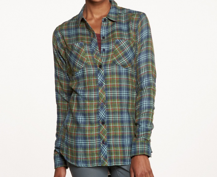 womens flannel shirts the toad and co cairn is a great lightweight womenu0027s flannel shirt irjfbwu