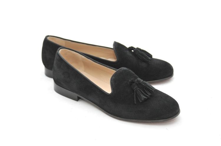 womens loafers womenu0027s jpc tassel black suede loafer rvietuv